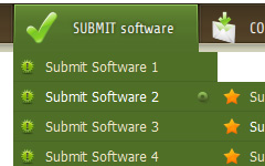 Java Script XP Style Tab Web Button Collection Download